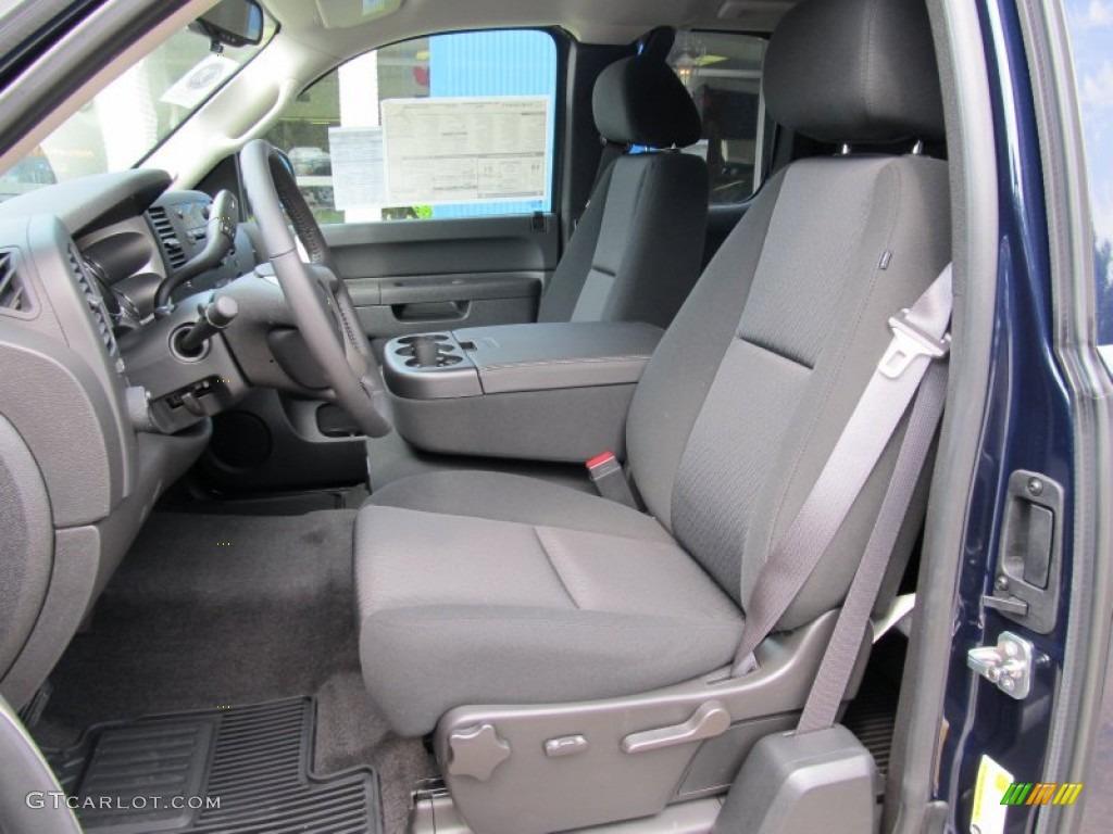2011 Silverado 1500 LT Extended Cab 4x4 - Imperial Blue Metallic / Light Titanium/Ebony photo #8