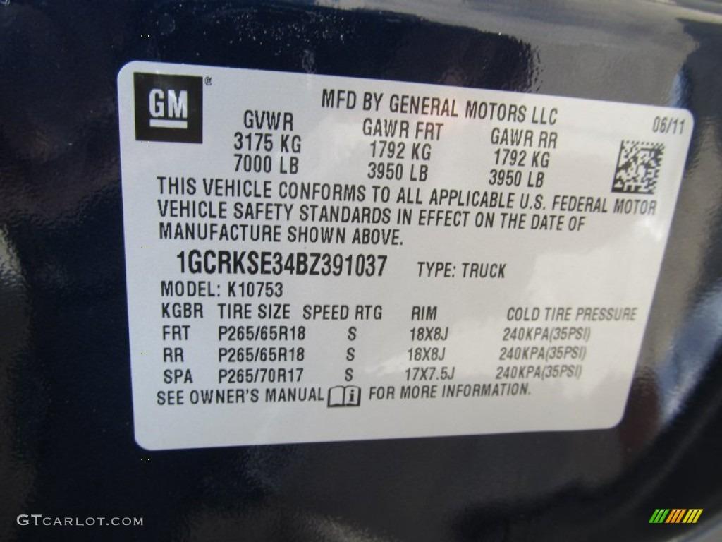 2011 Silverado 1500 LT Extended Cab 4x4 - Imperial Blue Metallic / Light Titanium/Ebony photo #14