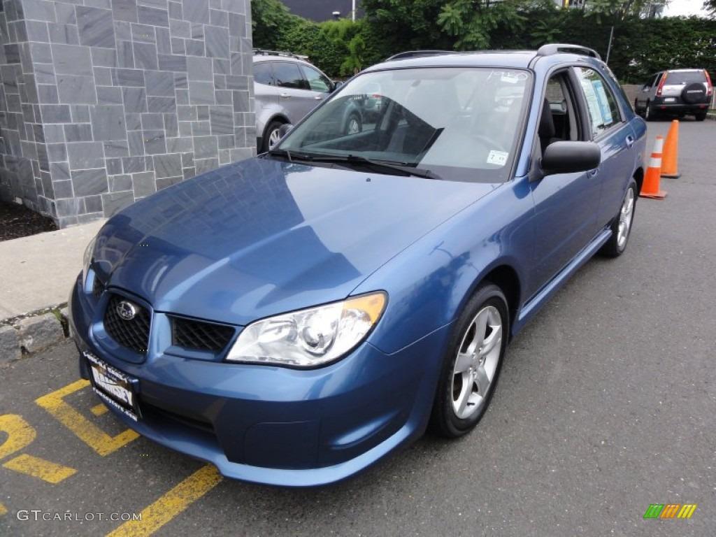 Newport Blue Pearl Subaru Impreza