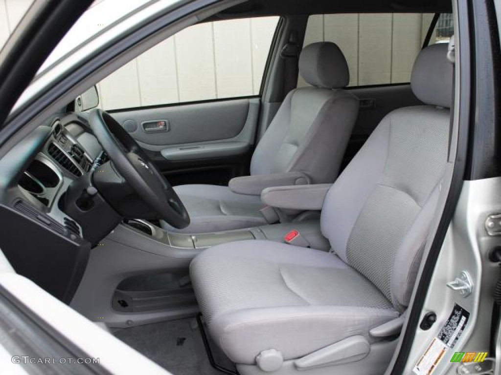 Gray Interior 2005 Toyota Highlander 4WD Photo 50831376