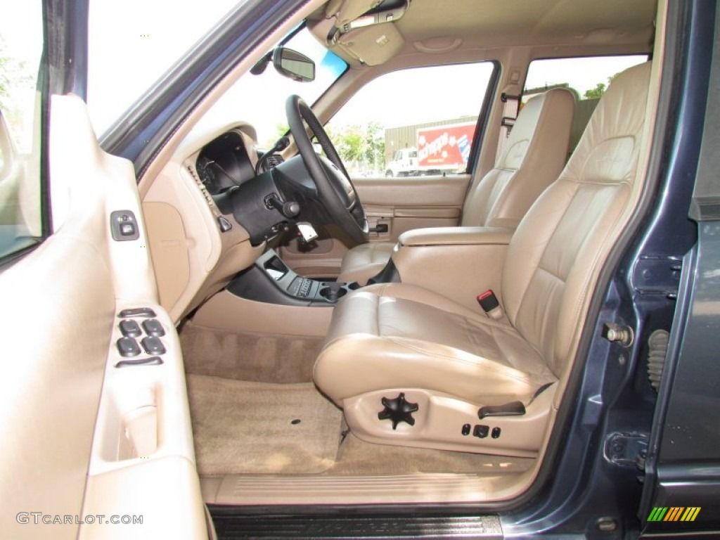 Medium Prairie Tan Interior 1999 Ford Explorer Eddie Bauer Photo 50836896