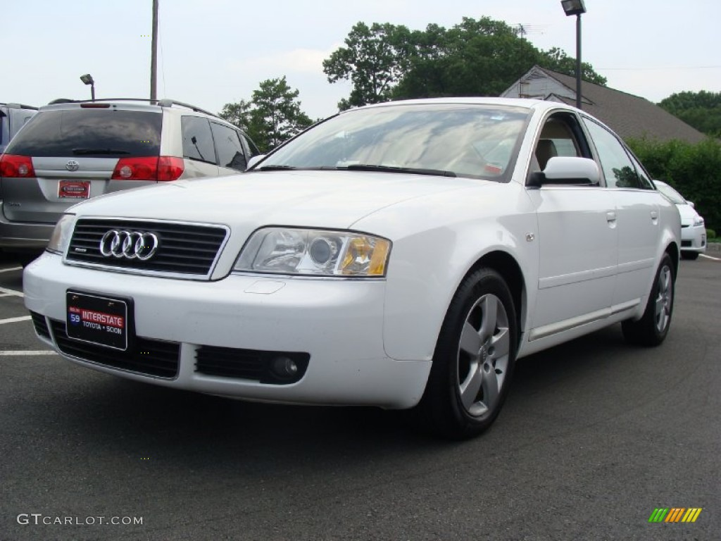 2002 polar white audi a6 3 0 quattro sedan 50828280 car color galleries. Black Bedroom Furniture Sets. Home Design Ideas
