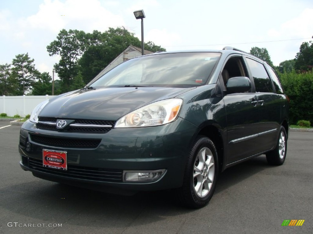 2004 aspen green pearl toyota sienna xle limited awd 50828281 car color galleries. Black Bedroom Furniture Sets. Home Design Ideas