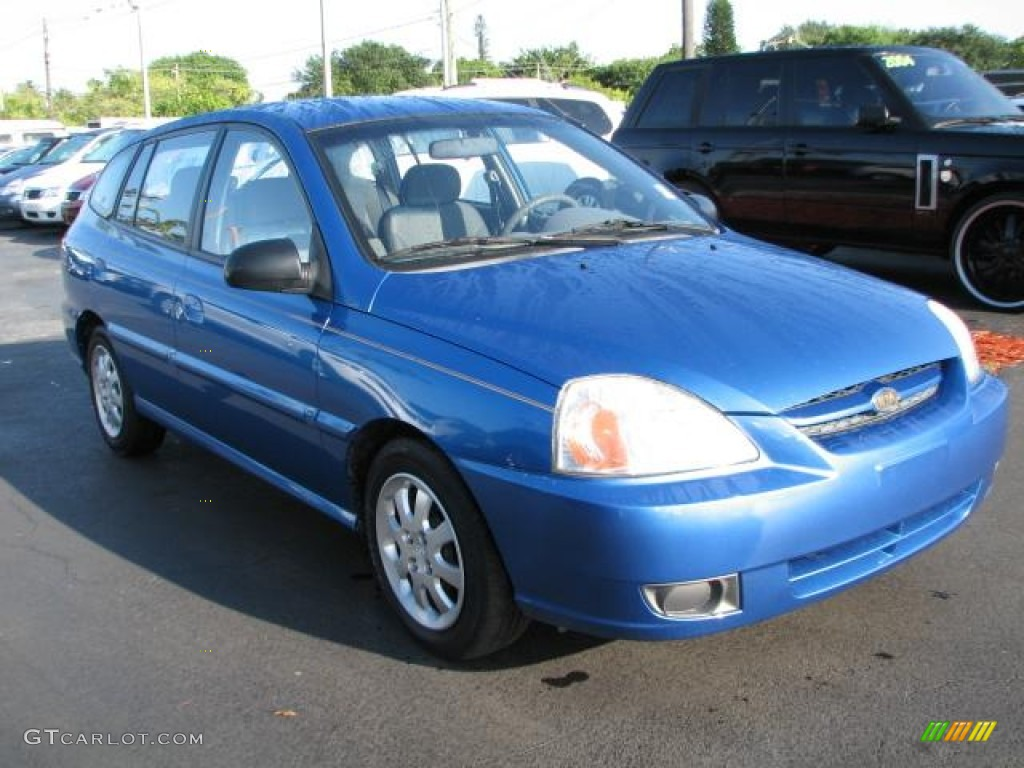 rally blue 2003 kia rio sedan exterior photo 50848881. Black Bedroom Furniture Sets. Home Design Ideas