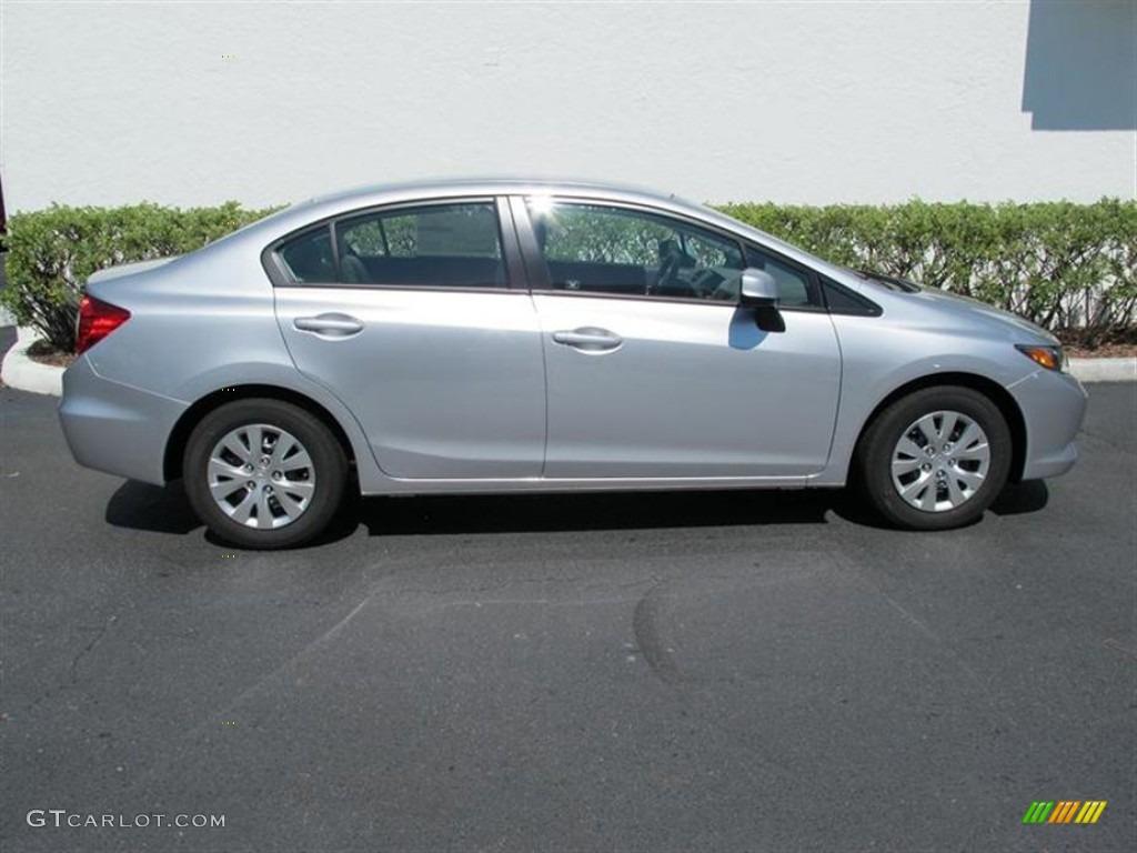 Alabaster silver metallic 2012 honda civic lx sedan for 2012 honda civic lx specs