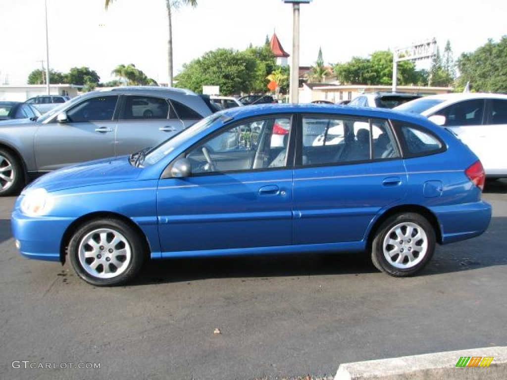 rally blue 2003 kia rio sedan exterior photo 50848947. Black Bedroom Furniture Sets. Home Design Ideas