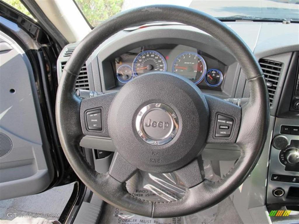 2006 jeep grand cherokee srt8 medium slate gray steering. Black Bedroom Furniture Sets. Home Design Ideas