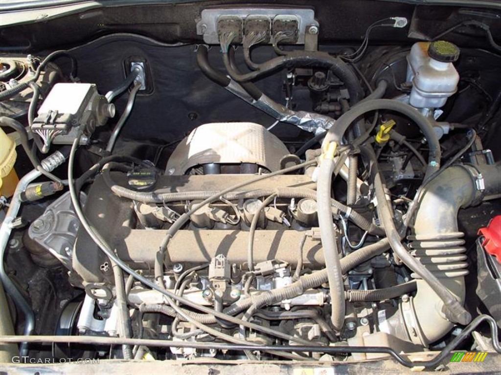 2008 mazda 3 wiring diagram manual 2008 mazda tribute i sport 2.3 liter dohc 16-valve 4 ... 2008 mazda 4cyl engine diagram