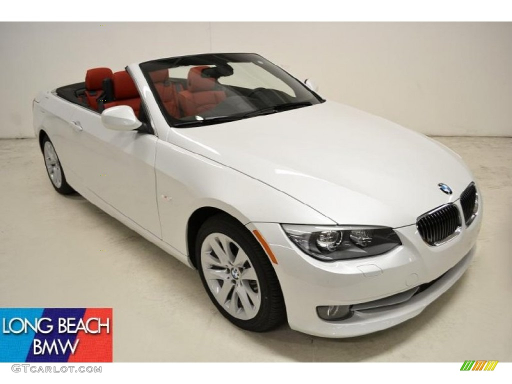 2011 Mineral White Metallic Bmw 3 Series 328i Convertible 50828011 Car Color