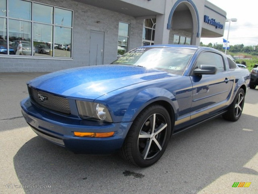 Vista Blue Metallic 2006 Ford Mustang V6 Premium Coupe Exterior Photo #50856301