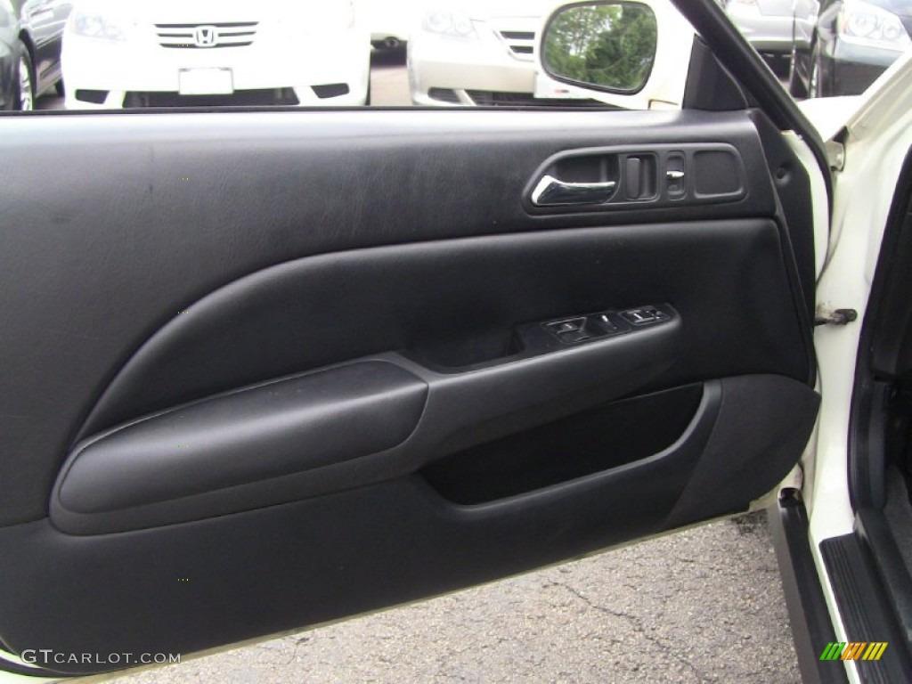 2001 Honda Prelude Standard Prelude Model Black Door Panel Photo 50857462