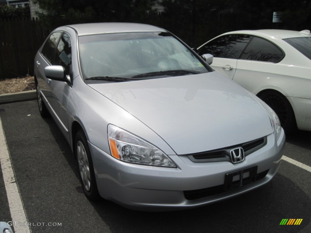 2003 satin silver metallic honda accord lx v6 sedan. Black Bedroom Furniture Sets. Home Design Ideas