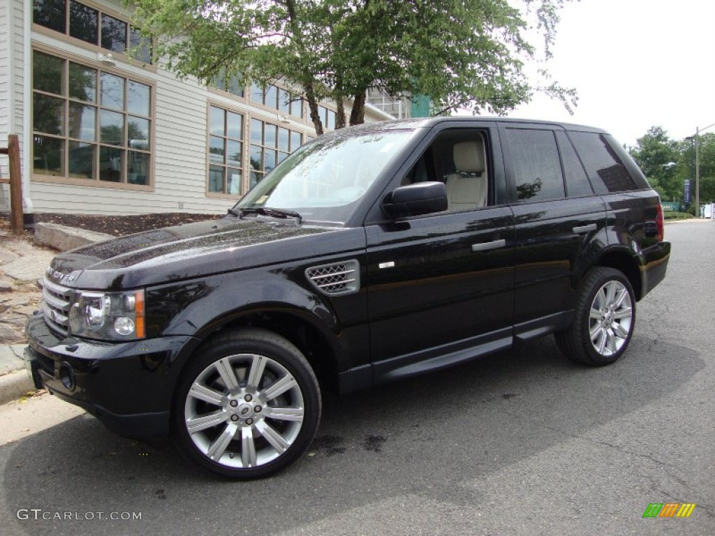 santorini black 2009 land rover range rover sport. Black Bedroom Furniture Sets. Home Design Ideas