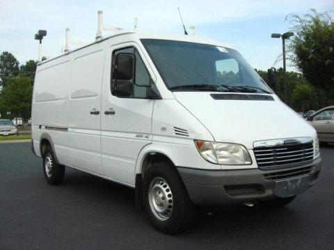 2006 mercedes benz sprinter 2500 cargo data info and