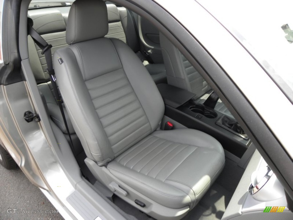 Light Graphite Interior 2008 Ford Mustang Gt Premium Coupe Photo 50887381