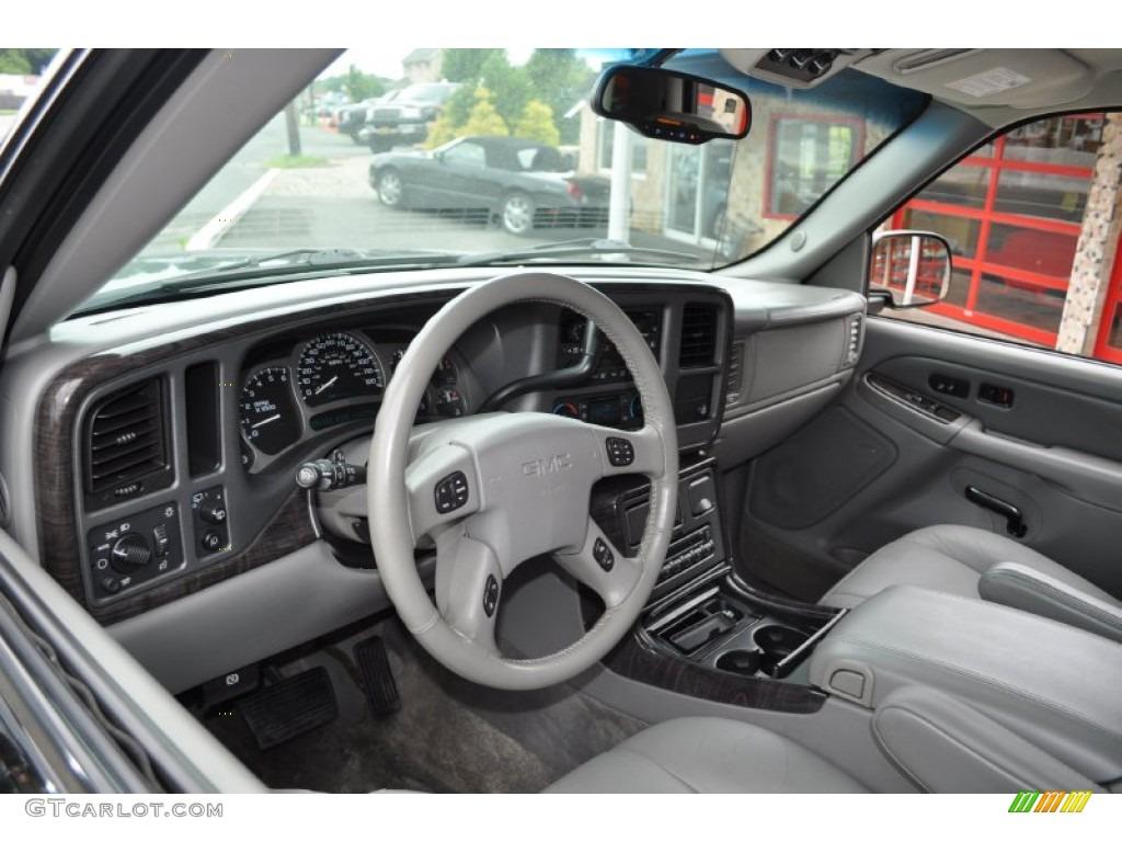 Stone gray interior 2003 gmc yukon denali awd photo