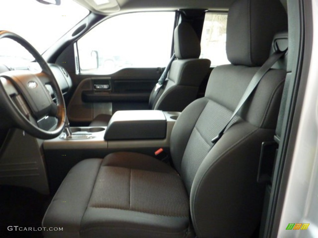 Medium Flint Grey Interior 2005 Ford F150 FX4 SuperCab 4x4 ...