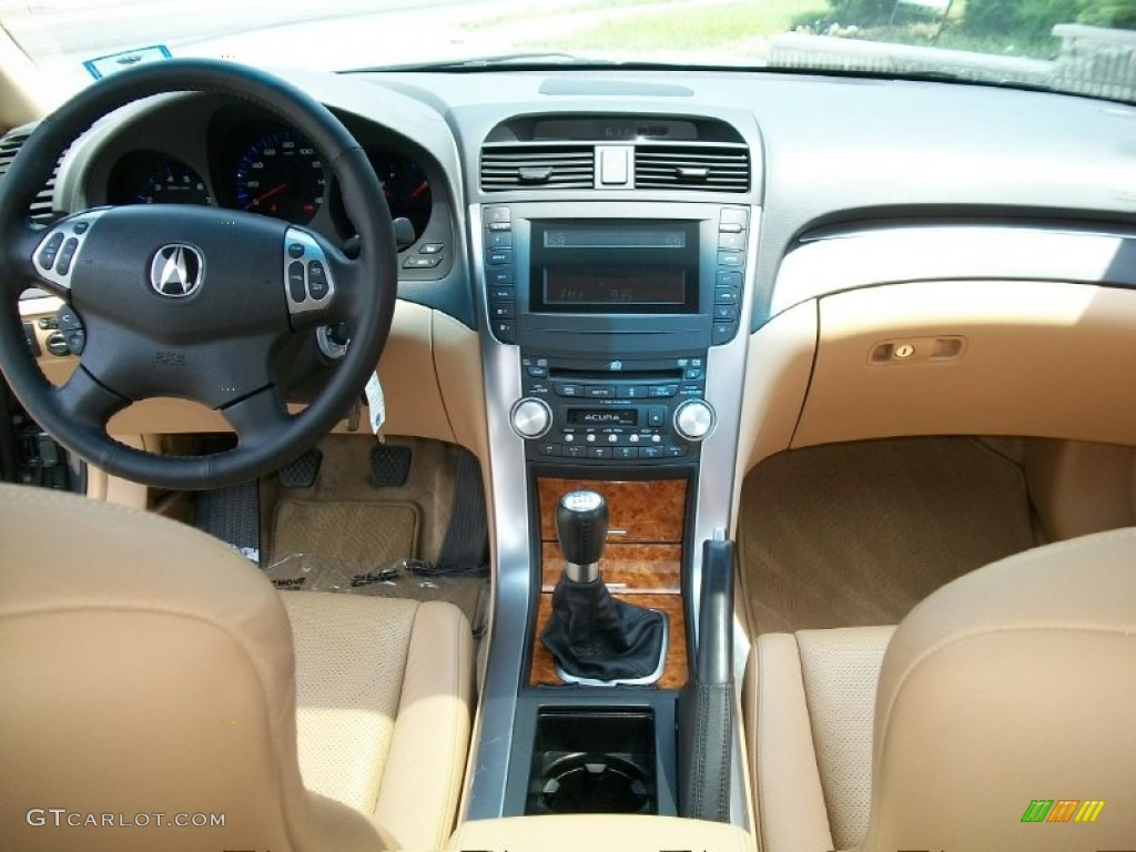 Acura TL Camel Dashboard Photo GTCarLotcom - Acura tl 2004 dashboard