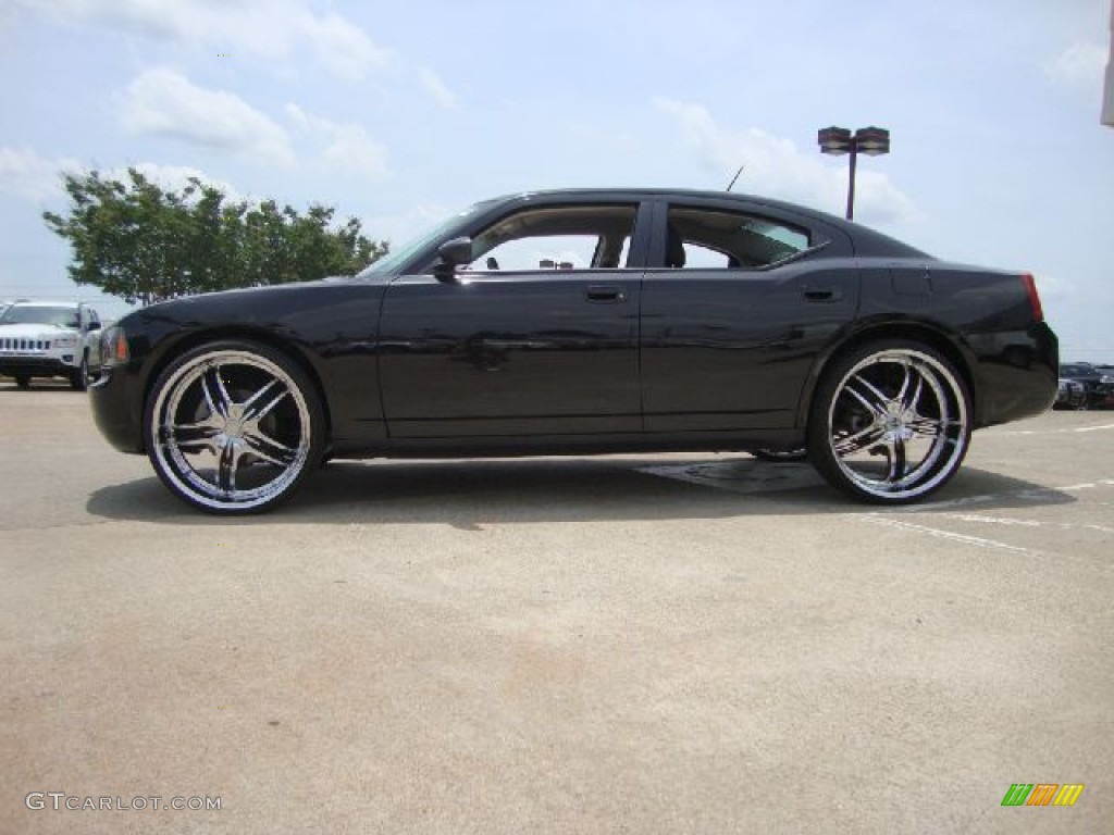 2008 dodge charger sxt awd custom wheels photo 50908843. Black Bedroom Furniture Sets. Home Design Ideas
