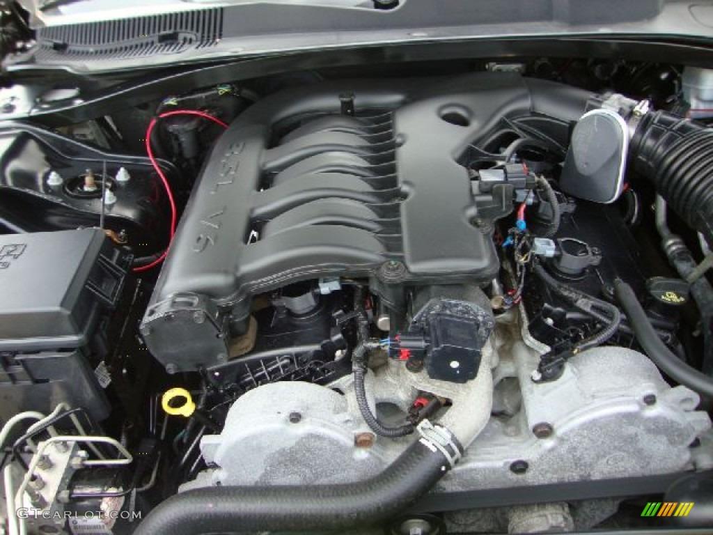 2008 Dodge Charger Sxt Awd 3 5 Liter Sohc 24 Valve V6