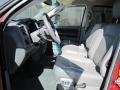 2008 Inferno Red Crystal Pearl Dodge Ram 3500 Laramie Quad Cab 4x4  photo #3