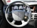 Medium Slate Gray Steering Wheel Photo for 2008 Dodge Ram 3500 #50911444