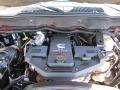 2008 Inferno Red Crystal Pearl Dodge Ram 3500 Laramie Quad Cab 4x4  photo #32