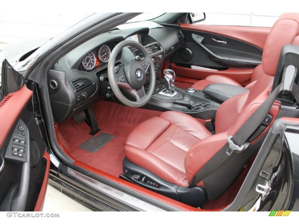 Chateau Interior 2008 Bmw 6 Series 650i Convertible Photo 50914464