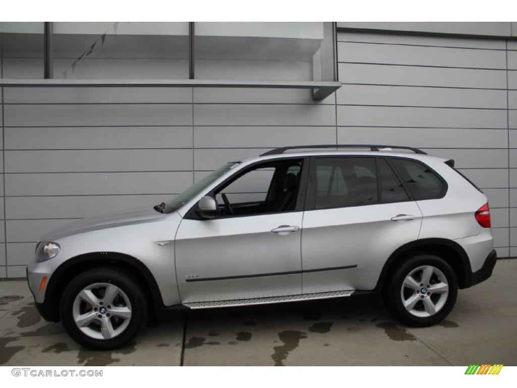 titanium silver metallic 2008 bmw x5 exterior photo 50916531. Black Bedroom Furniture Sets. Home Design Ideas