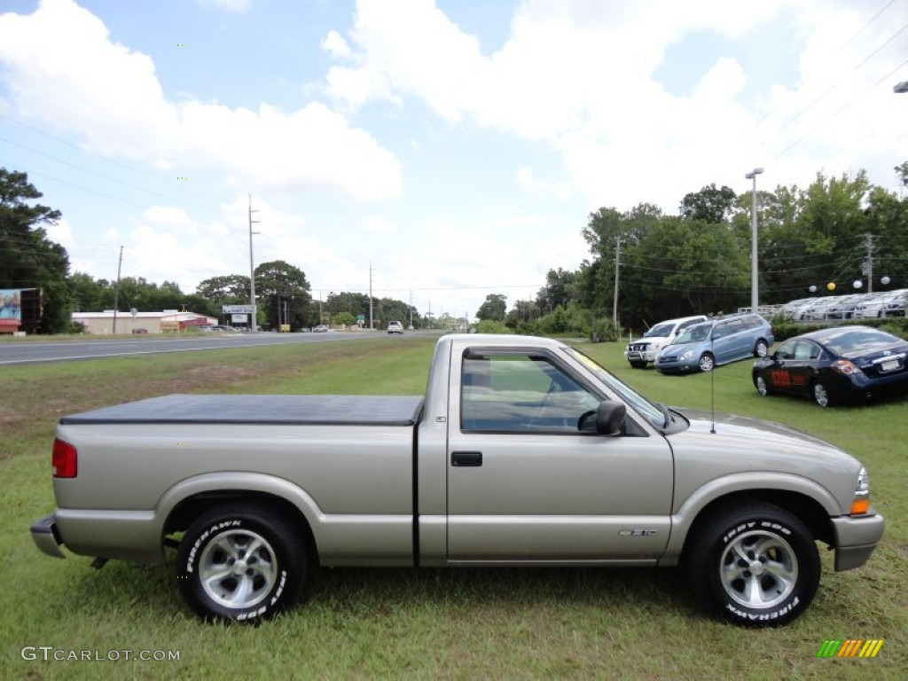 Light Pewter Metallic 2001 Chevrolet S10 LS Regular Cab ...