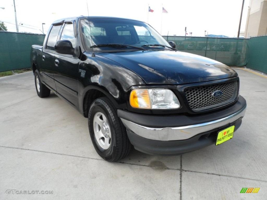 2001 Black Ford F150 XLT SuperCrew 50912257 Car Color Galle