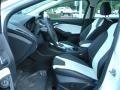 2012 White Platinum Tricoat Metallic Ford Focus Titanium 5-Door  photo #5