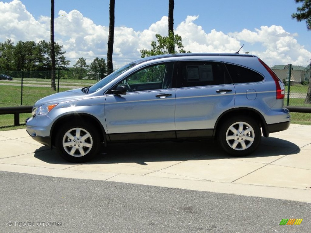Glacier Blue Metallic 2011 Honda Cr V Se Exterior Photo