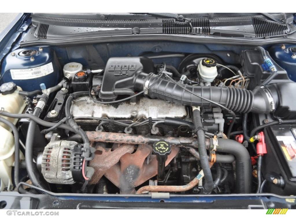 2003 mitsubishi eclipse 2 4l engine wiring harness diagram 2000 pontiac sunfire se coupe 2.2 liter ohv 8-valve 4 ...