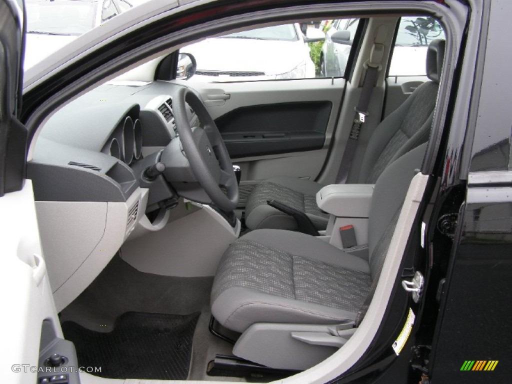 Pastel Slate Gray Interior 2007 Dodge Caliber Sxt Photo 50941173