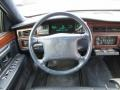 1995 Cadillac DeVille Blue Interior Steering Wheel Photo