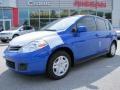 Metallic Blue 2011 Nissan Versa Gallery