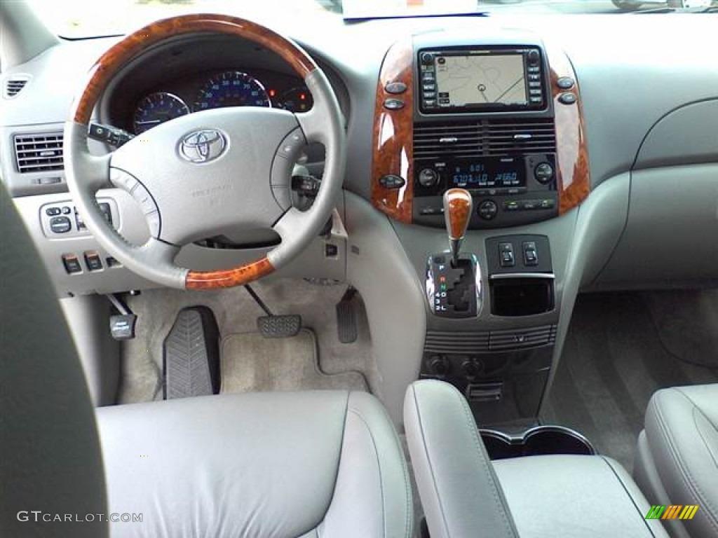2010 Toyota Sienna Limited Stone Dashboard Photo 50954730