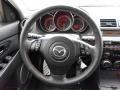 MAZDASPEED Black 2008 Mazda MAZDA3 MAZDASPEED Grand Touring Steering Wheel