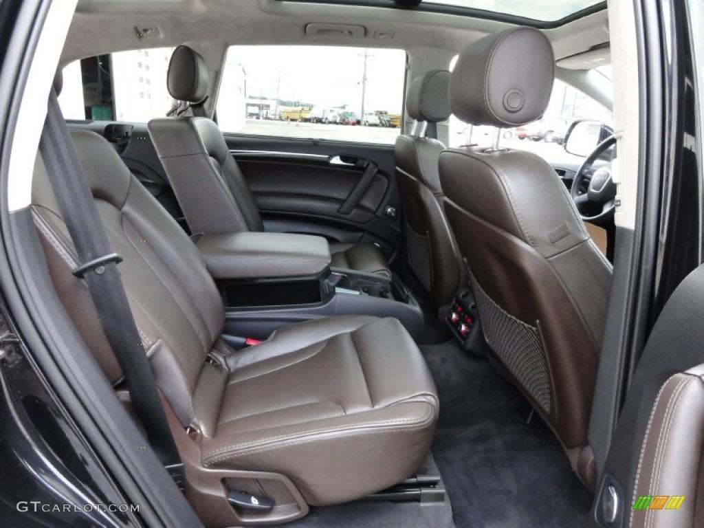 Espresso Brown Interior Audi Q Prestige Quattro Photo With Trestige Interir