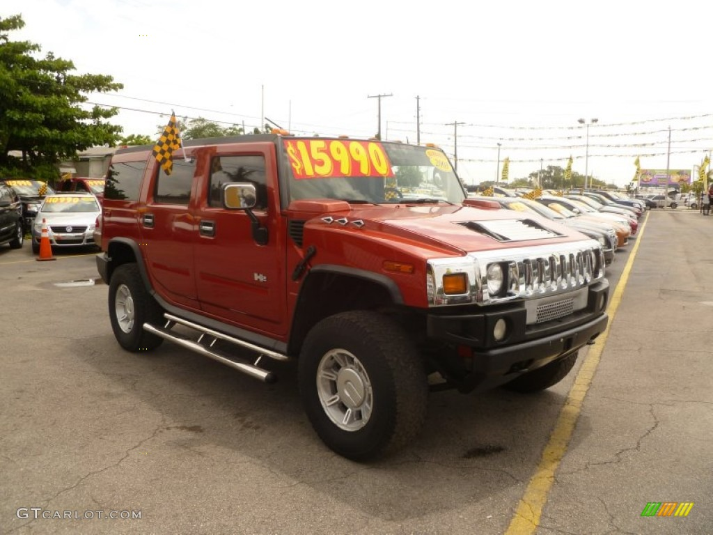 2003 sunset orange metallic hummer h2 suv 50984026 gtcarlot sunset orange metallic hummer h2 vanachro Images