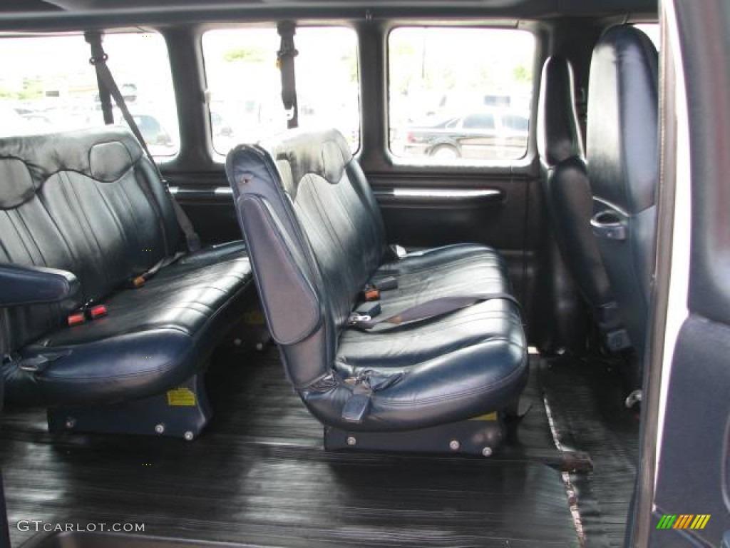 2000 Chevrolet Express G3500 15 Passenger Van interior Photo