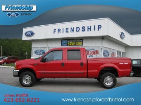 1999 Ford F350 Super Duty XLT Crew Cab 4x4 Data, Info and Specs