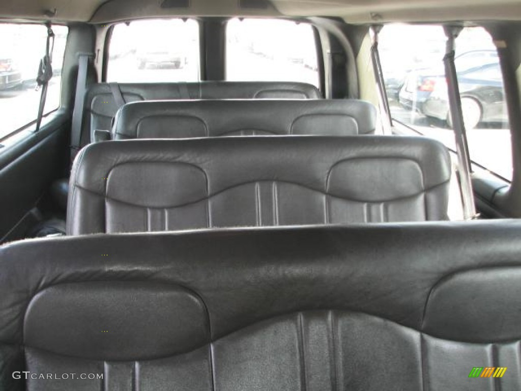 2001 chevrolet express 3500 ls extended passenger van interior photos