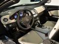 2009 SLR McLaren Roadster Semi-Aniline Black/Silver Arrow Leather Interior