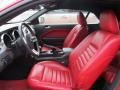 Red Leather Interior Photo for 2005 Ford Mustang #50999206