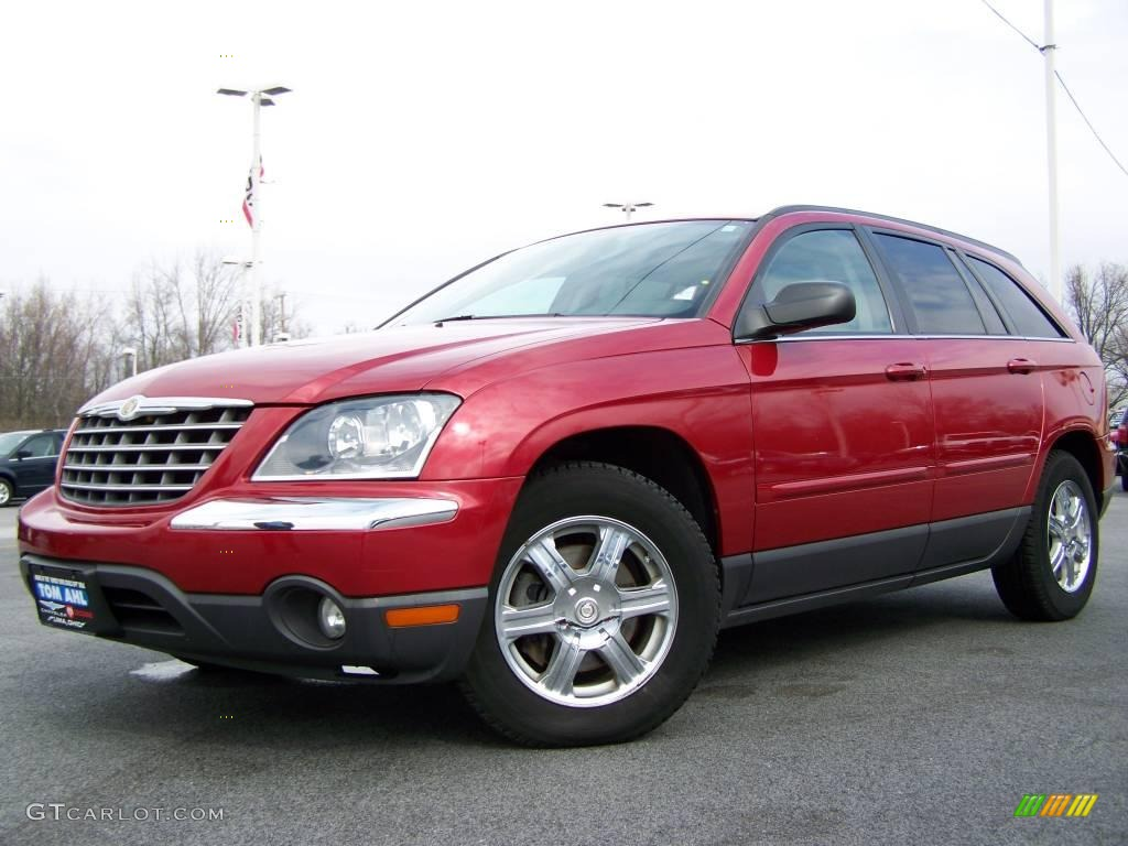 2004 inferno red pearl chrysler pacifica 5077546 car color galleries. Black Bedroom Furniture Sets. Home Design Ideas