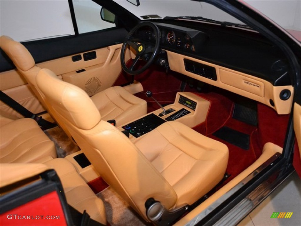 tan interior 1987 ferrari mondial cabriolet photo 51010417. Black Bedroom Furniture Sets. Home Design Ideas