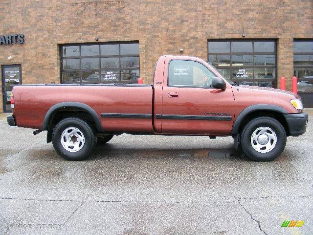 2000 autumn red mica toyota tundra sr5 regular cab 4x4. Black Bedroom Furniture Sets. Home Design Ideas