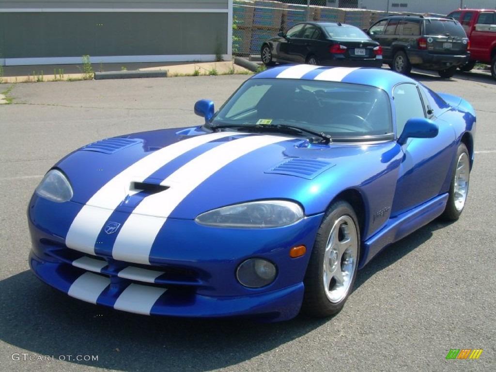GTS Blue Pearl 1997 Dodge Viper GTS Exterior Photo #51011263 ...